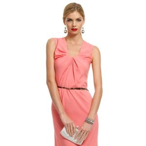 No. 21 Coral Shirred Maxi Dress - IT 46, US 10